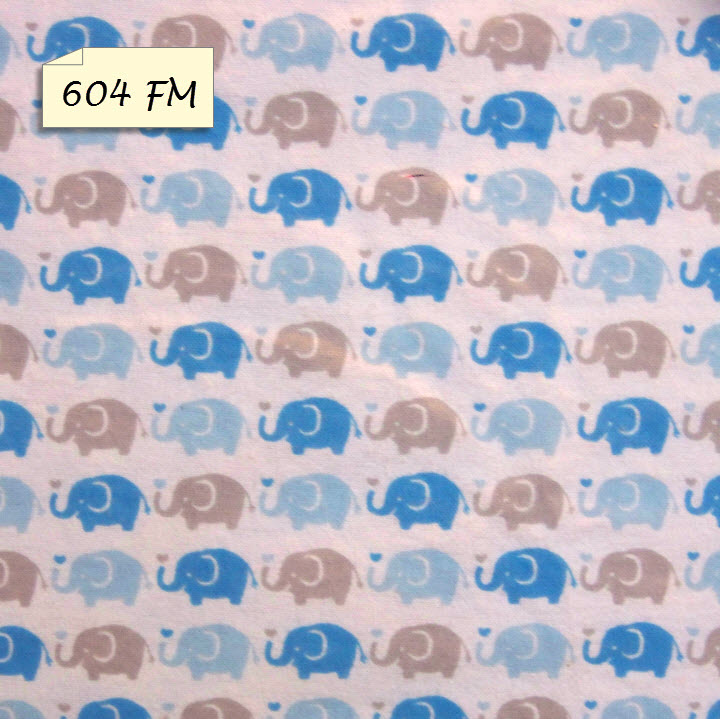 604 FM Blue Grey Elephants
